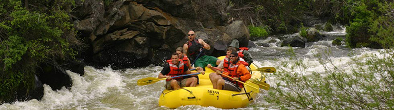 Coffee School Recreation: Whitewater rafting